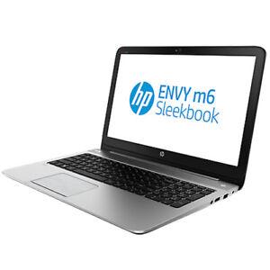 "HP Envy Sleekbook m6 - 15.6"" - A10 5745M - 8 GB RAM 256SSD"