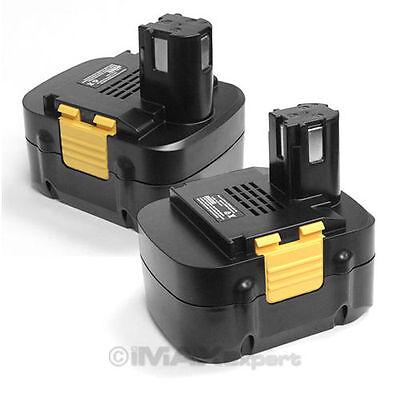 2 Battery for PANASONIC 15.6V 15.6 VOLT Cordless Drill Panasonic Cordless Battery