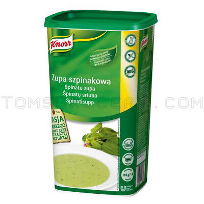 Knorr Creamy - Knorr Professionals Instant Creamy Spinach Soup Preparation XXL Box 1kg 35oz