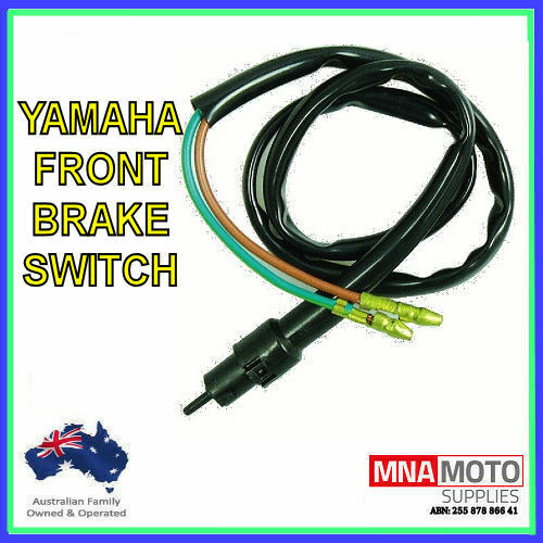 FRONT DRUM BRAKE SWITCH TO SUIT YAMAHA  XT250 1980 - 1991 DT400 1977-1981