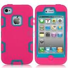 iPhone 4 Otterbox Defender Pink Blue