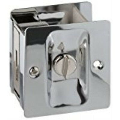 Chrome Pocket Door Hardware - National Hardware V1951 Pocket Door Latch in Chrome