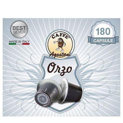 180 capsule Caffè Agostani Best ORZO compatibili Nespresso Spedizione Gratis
