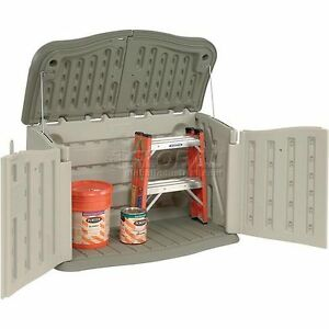 Rubbermaid Mini Storage Shed Cabane Resin