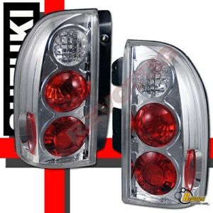 1999-2004 Suzuki Grand Vitara XL7 XL-7 Chrome Tail Lights 00 01 02 03 1 Pair