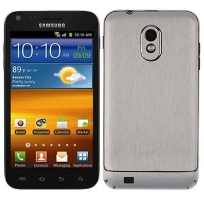 Skinomi Brushed Aluminum Phone Skin+SP for Samsung Galaxy S 2 4G Virgin/Boost for sale  Shipping to Canada