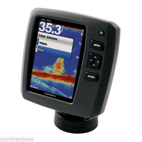 Garmin depth finder ebay for Fish finder depth finder