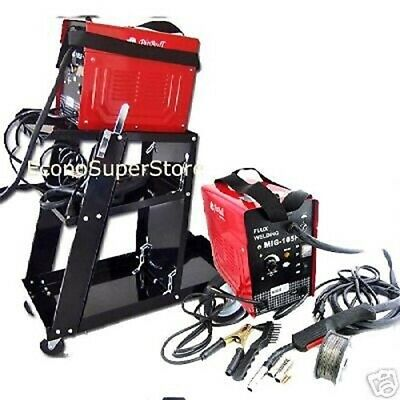 Combo Mig-100 90amp Flux Core Wire Mig Welding Machine No Gas Welding Cart