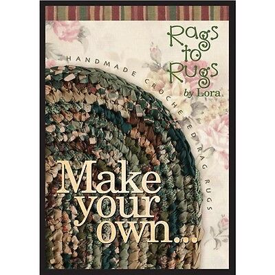 Rags to Rugs Make Your Own 'Rag Rug' By Lora DVD - 070913