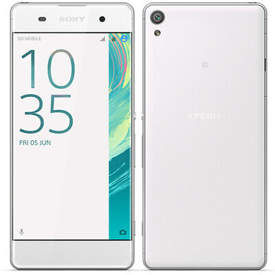 "Sony Xperia XA 16GB 5.0"" White Android 6.0 Unlocked Smartphone - WIFI GPS 4G LTE"