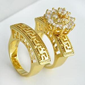 Womens stainless steel wedding ring set ebay for Sell wedding ring set
