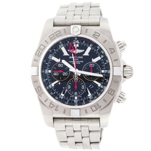 Breitling Bentley Gmt Wristwatches: Breitling Chronomat GMT: Wristwatches