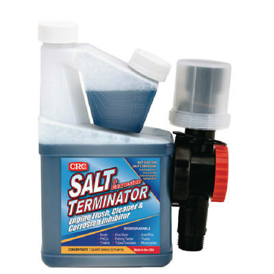 CRC Salt Terminator 32 oz. Marine Engine Flush Fluid with Mixer Unit 77-SX32M