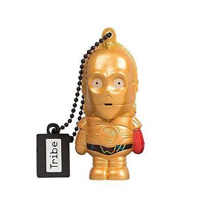 Tribe Disney Star Wars C3PO TFA Chiavetta USB - 16 GB Pendrive...