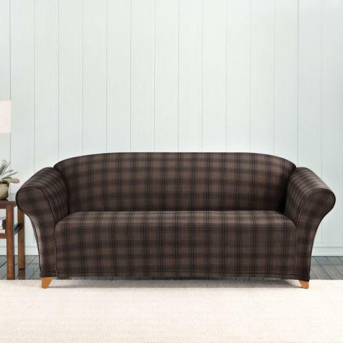 Plaid Sofa Ebay