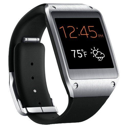 NEW Samsung Galaxy Gear 41mm Stainless Steel Jet Black Modern Buckle SM-V700