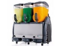 GBG SPIN slush machine FAST FREEZE 3x12ltr,Delivery: 1 to 2 working days , cash and collection.