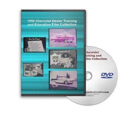 1956 chevrolet chevy dealer training amp education series dvd c191