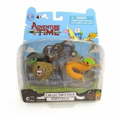 ADVENTURE TIME COLLECTORS PACK PARTY GOD AND JAKE EXTREMELY RARE NEW IN BOX - Extreme Party Pack