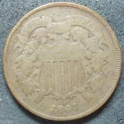 US 2 Cent Coin