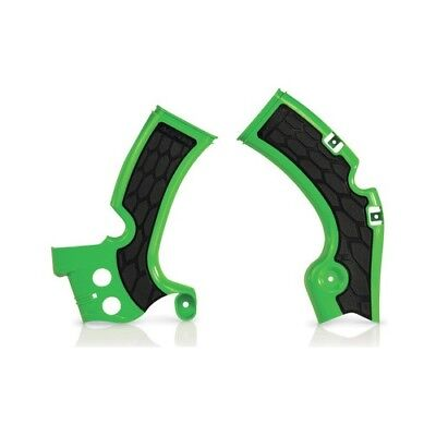 Used, Green Black X-Grip Frame Guards for Kawasaki 2009-18 KX 450F KX450F 2374271089 for sale  Shipping to Canada