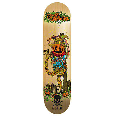 "Dan Cates Pumpkin Pro deck - Death Skateboards 8.25 "" with grip"