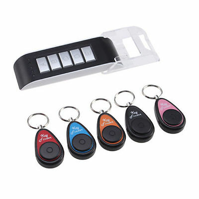 5 in 1 Remote Wireless Key Wallet Finder Receiver 85DB Lost Thing Alarm Locator