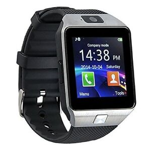 2018 New Smart Watch Phone SIM Memory Card Bluetooth Android iPh