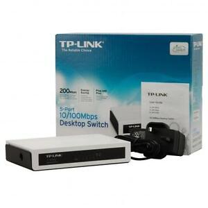 TP-LINK 5-port 10/100M Desktop Ethernet switch