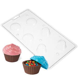 Schokoladen Giessform für Mini Schoko Cupcake Behälter