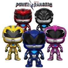 Funko Pop! Movies - Power Rangers New Figurines Black, Pink, Yellow, Blue or Red