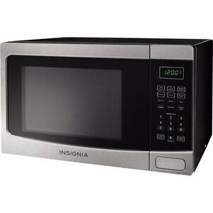 1.2 Cu. Ft. Counter top Microwave - Stainless Steel - $ 75.00