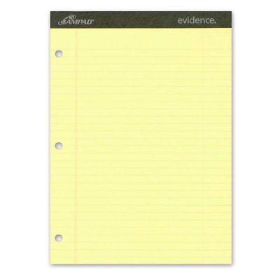 Ampad Legal Pad - Ampad Legal-ruled 3-hole Writing Pad - 50 Sheet - 15 Lb - 8.50