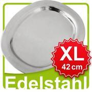 Tablett Edelstahl
