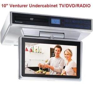 under kitchen cabinet tv dvd cd player radio cabinet tv ebay 27582