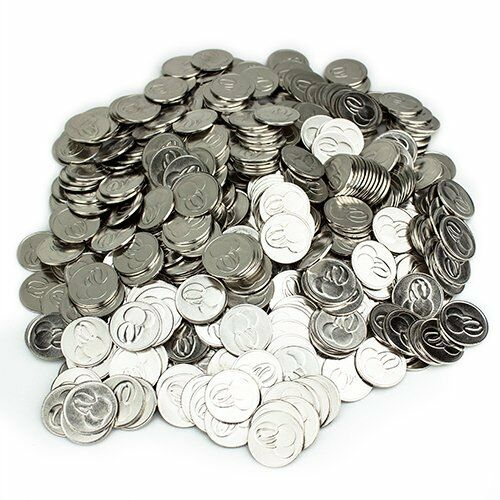 Cherry Slot Machine Tokens, 500-pack