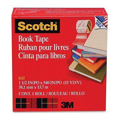 Scotch Transparent Tape - 1.50 Width X 45 Ft Length - 3 Core - Acrylic -