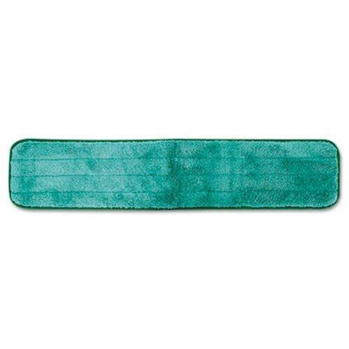 "Rubbermaid Q424 Hygen Microfiber Dry Hall Mop, 24"", Green (RCPQ42400)"