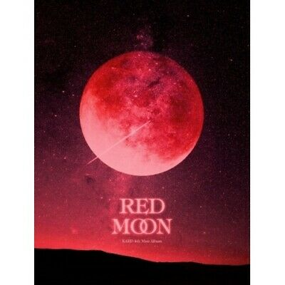 KARD-[Red Moon] 4th Mini Album CD+2p Poster+80p PhotoBook+2p Card+1p MoonCard