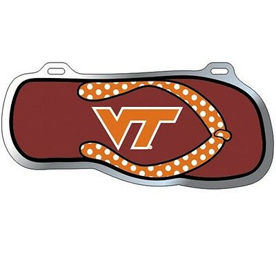 VT VIRGINIA TECH Hokies Flip Flop License Plate Tag