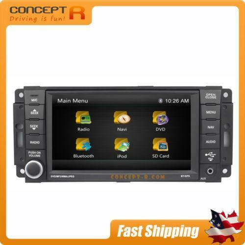 2008 Chrysler Town And Country Radio