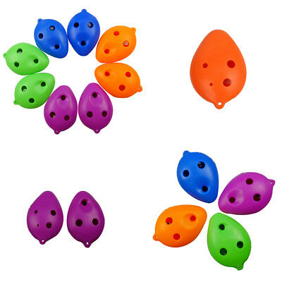 6 Hole treble C ABS Plastic small Ocarina for Beginner FJ