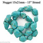 Turquoise Howlite Nuggets