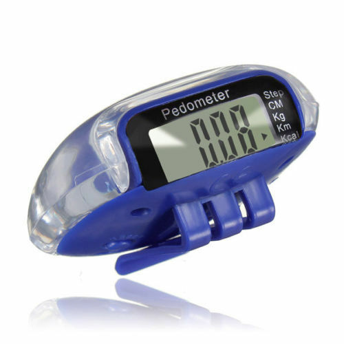 Mini LCD Pedometer Walking Run Step Calorie Distance Calculation Counter