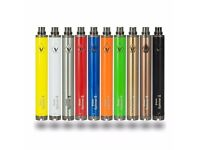 Vision 2 Spinner 1650mah Variable Voltage Battery non Cigarette