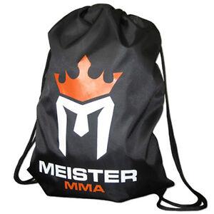 MEISTER-MMA-DRAWSTRING-BACKPACK-Cinch-Sack-Duffel-Bag-Gym-Tote-Sports-Gear-NEW