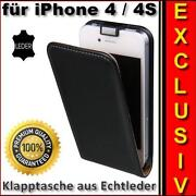 Leder Tasche Für iPhone 4