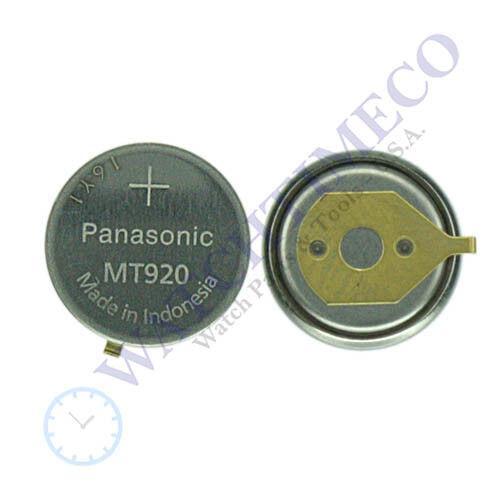 Citizen Ecodrive Battery Panasonic MT920 f/ E812 E816 E817 E820 E860 E865 E870