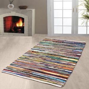 cotton runner rug ebay. Black Bedroom Furniture Sets. Home Design Ideas
