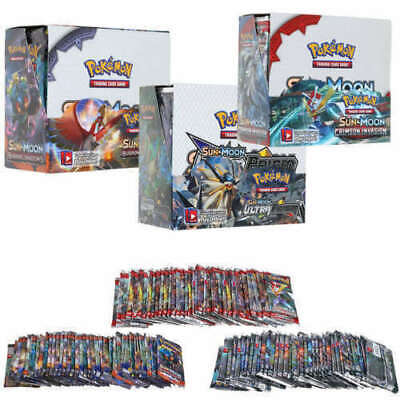 324pcs Pokemon Cards Bundle TCG 36 Packs Booster Box English Edition Break Point